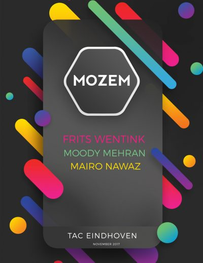 MOZEM w/ Frits Wentink & Mairo Nawaz @TAC Temporary Art Centre Eindhoven