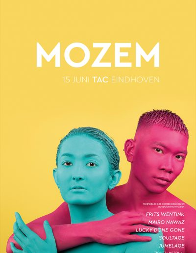 Poster MOZEM w/ Frits Wentink & Mairo Nawaz @ TAC Temporary Art Centre Eindhoven